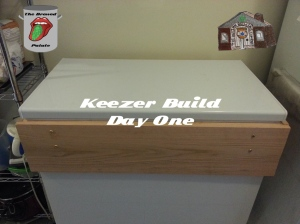 Keezer Build Day One.001