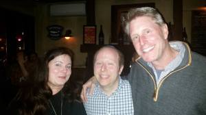 (L-R Katherine Kyle, Me, and Dave Broderick